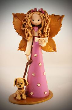 Puppy Fairy by fairiesbynuria on Etsy, $39.95
