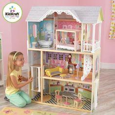 MAISON POUPEE Kidkraft - Maison de poupées en bois Kaylee