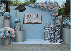 23 Trendy backyard party graduation - Decoration For Home Graduation Party Themes, College Graduation Parties, Graduation Party Decor, Graduation Photos, School Parties, Grad Parties, Graduation Backdrops, Party Kulissen, Party Ideas