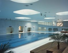 Mikou Studio, Fort swimming pool, Issy-les-Moulineaux, France
