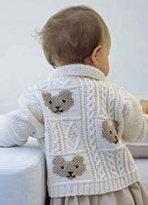 gilet oursons