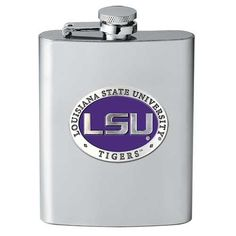LSU Tigers Flask ** You can find out more details at the link of the image. (This is an affiliate link) #LiquorWineFlasks