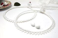 STEFANA Wedding Crowns - Orthodox Stefana - Bridal Crowns LACE on Etsy Wedding Boxes, Wedding Pins, Our Wedding, Wedding Crowns, Dream Wedding, Orthodox Wedding, Small Rose, Bridal Crown, White Lace