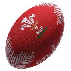 Gilbert Beach Rugby Ball Red