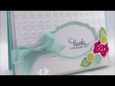Partial Embossing with your Big Shot - video tutorial  http://catherinepooler.com/2013/05/partial-embossing-with-the-big-shot/