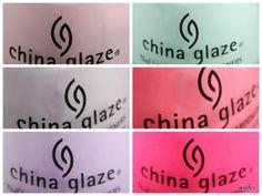 China Glaze - City Flourish: Peonies & Park Ave