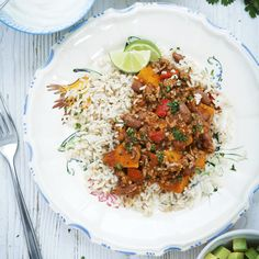 Quick, easy and delicious - give Davina McCall's pork, bean and sweet potato chilli a go during the week