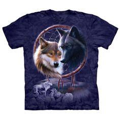 Dreamcatcher Wolves T-Shirt