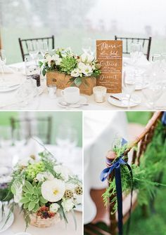 Refined Woodsy Wedding