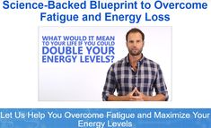 """The Energy Blueprint: FREE """"Double Your Energy"""" Video Masterclass"""