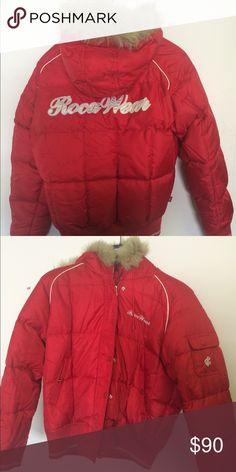 Roca Wear coat Red winter coat Rocawear Jackets & Coats Puffers