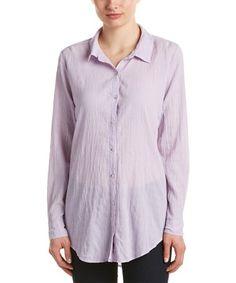 Barth Jennica Shirt In Purple Calypso St Barth, Box Pleats, Color Patterns, Shirt Dress, Purple, Fabric, Mens Tops, Cotton, Shirts