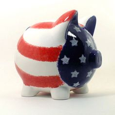 Personalized Piggy Bank  ThePigPen.etsy.com