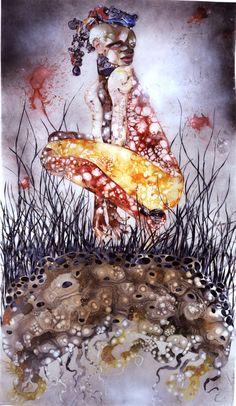 wangechi mutu   ... fusion of effects]: Artology: Wangechi Mutu, Provocative Kenyan Artist