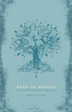 GigPosters.com - Band Of Horses - Cass Mccombs & The Middle Class - Tyler Ramsey