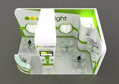 EcoLight exhibition stand
