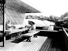 Estate of Pedro E. Guerrero : Marcel and Connie Breuer, New Caanan CT : Marcel Breuer, Architect 1949, Digital print