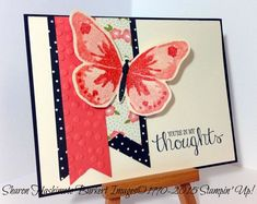 Stampin' Up! Watercolor Wings & Pretty Petals stack