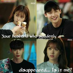 """#W two worlds ⚡ episode 11: He says he didn't have much interest in it at first, but then we see how his eyes widened as he read all the events of the first timeline, from meeting Yeon-joo on the rooftop to all their kisses, to discovering that he was a manhwa character, to shooting Dad and jumping into the river. He tells Yeon-joo that the story was exciting, and that he felt bad for Kang Chul, who seemed dumb at times… """"like me,"""" he finishes. That's why he didn't turn himself in, he…"""