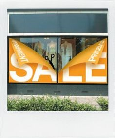Window display, Visual merchandising, VM, Sale, Shop window. Window decal, decals, decal. Speak to DisplayBAY about your retail display requirements - www.displaybay.com.au