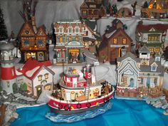 Joan's Christmas Village