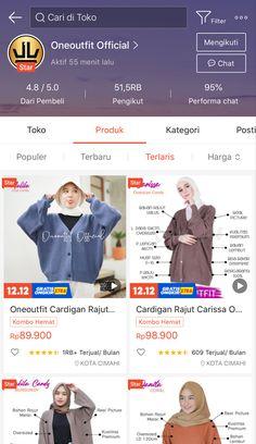 Best Online Clothing Stores, Online Shopping Sites, Online Shopping Clothes, Online Shop Baju, Casual Hijab Outfit, Hijab Fashion Inspiration, Korean Street Fashion, Aesthetic Fashion, New Fashion