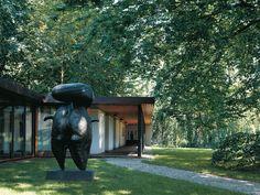 Museum Louisiana, Jørgen Bo und Vilhelm Wohlert