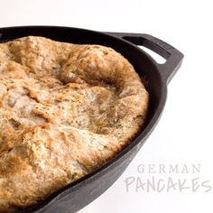 Hootenannys, German or Danish Pancakes...whatever you call them they are my fav. With simply swapping out a few ingredients it is easy to make them paleo!