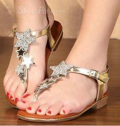 ⭐️ star sandals ⭐️ Love!