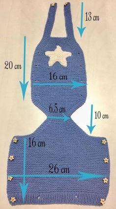 Patrones DIY , amigurumis gratis, crochet y tricot, ropa para bebe tejida, todo . Baby Knitting Patterns, Knitting For Kids, Knitting For Beginners, Craft Patterns, Baby Patterns, Free Knitting, Crochet Patterns, Crochet Tutorials, Dress Patterns
