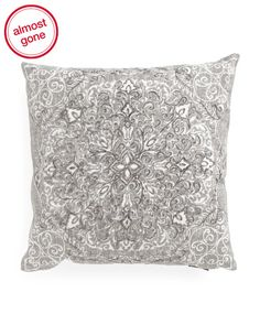 Made In India 20x20 Damask Pillow - Living Room - T.J.Maxx c3794b1623