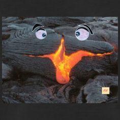 volcan rieur - T-shirt Premium Homme
