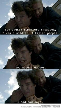 One of my fav scene of sherlock..
