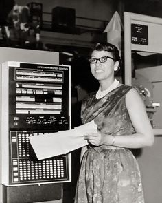 """Melba Roy, NASA Mathematician, 1964.  Ms. Roy headed a group of NASA mathematicians known as """"computers"""" who tracked the Echo satellites in 1964."""
