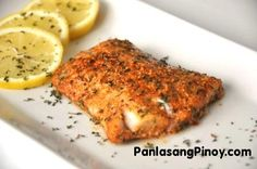 Parmesan Crusted Fish is a quick and easy fish recipe that you can prepare anytime. This dish is perfect for lent. Tilapia is the most common fish used for this recipe, but for I change – I tried using Pollock. I find it really good and tasty. Preparing Parmesan Crusted Fish is hassle free. All you will need is to combine all the seasoning wit