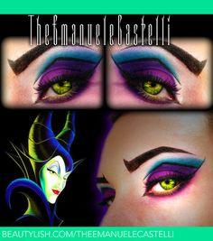 Disney's Villain - Maleficent Make Up   Emanuele C.'s (TheEmanueleCastelli) Photo   Beautylish