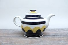 Items similar to Arabia Finland Paju Tea Pot by Anja Jaatinen Hand Painted, Signed on Etsy Red Home Decor, Pottery Designs, Ceramic Artists, Handmade Decorations, Finland, Art Decor, Tea Pots, Unique Gifts, Arts And Crafts