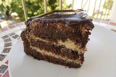 karolina-azzaro: Čokoládovo kokosová torta