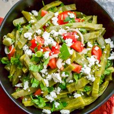 This is an authentic Mexican cactus leaves salad (ensalada de nopales), a very refreshing salad for the summer that goes well with grilled meats, in tacos, with scrambled eggs, burritos or stews. Nopal Salad Recipe, Nopales Salad, Nopales Recipe, Authentic Mexican Recipes, Mexican Food Recipes, Vegetarian Recipes, Healthy Recipes, Healthy Meals, Healthy Cooking