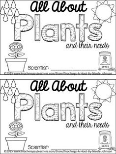 Plants Life Cycle Planting Seeds Poetry Sequencing Common
