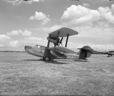Walrus Mark I (no serial number visible) of Nos. 276 or 277 Squadrons RAF, on the ground at Warmwell, Dorset. Flying Ship, Flying Boat, Ww2 Aircraft, Military Aircraft, Royal Australian Air Force, Aircraft Design, Army & Navy, Royal Air Force, Sea Planes