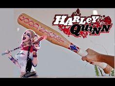 Cómo hacer el BATE del disfraz de HARLEY QUINN de Suicide Squad. Parte 3 - YouTube                                                                                                                                                                                 Más