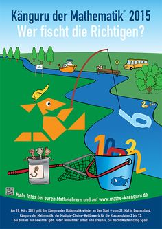 Känguru der Mathematik Plakat 2013