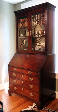 18th Century English Secretary Bookcase