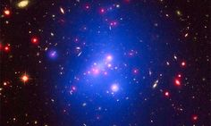 """Enormous Dark-Matter Density at Galaxy Cluster Cores — """"Hints at Existence of Unknown #Physics"""" 