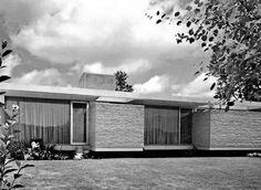 Casa Camargo, Paseo del Pedregal 1027, Jardines del Pedregal, México, DF 1959    Arq. José María Buendía -    Casa Carmago, Pedregal, Mexico City 1959