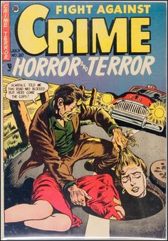 Fight Against Crime #20, July 1954.