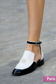 Chanel s ankle-strap loafers Chanel Spring, Spring 2015, Summer 2015,  Spring Summer 70e45a6d15c