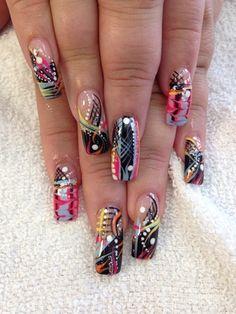 Magic Nails by Sammytran - Nail Art Gallery nailartgallery.nailsmag.com by Nails Magazine www.nailsmag.com #nailart