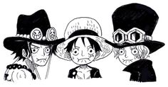 Ace Sabo & Luffy